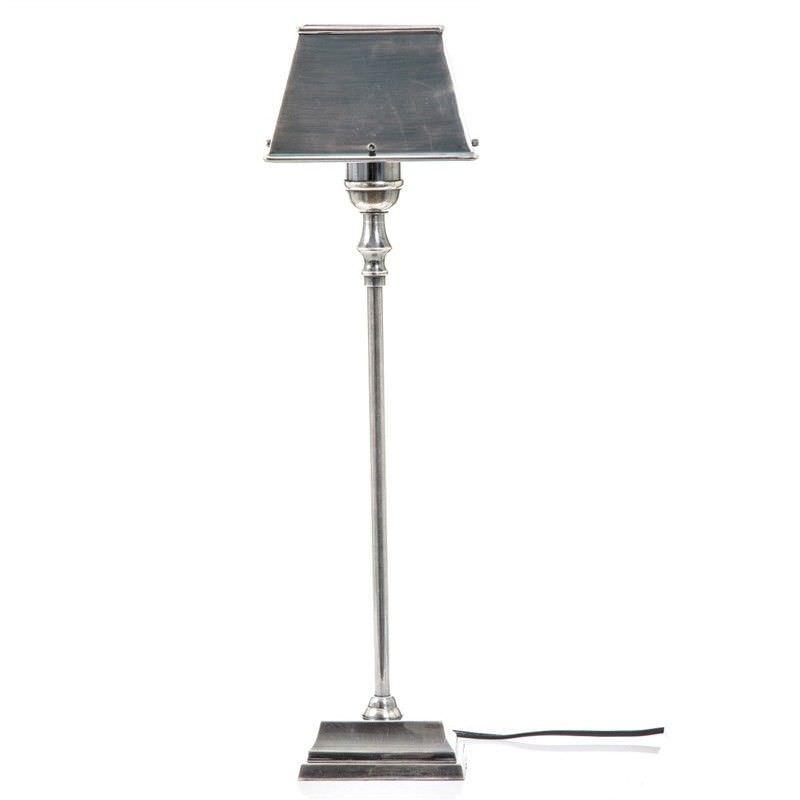Collin Metal Table Lamp - Antique Silver