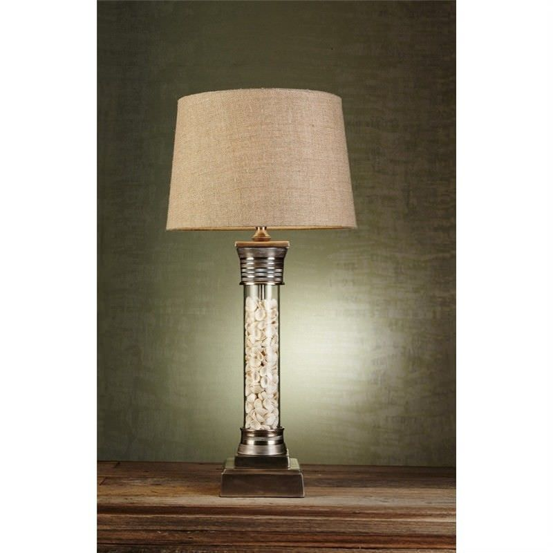 Clifton Glass Table Lamp