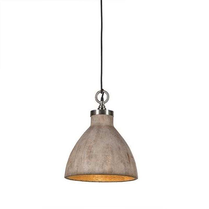 Malibu Timber Pendant Light - Medium