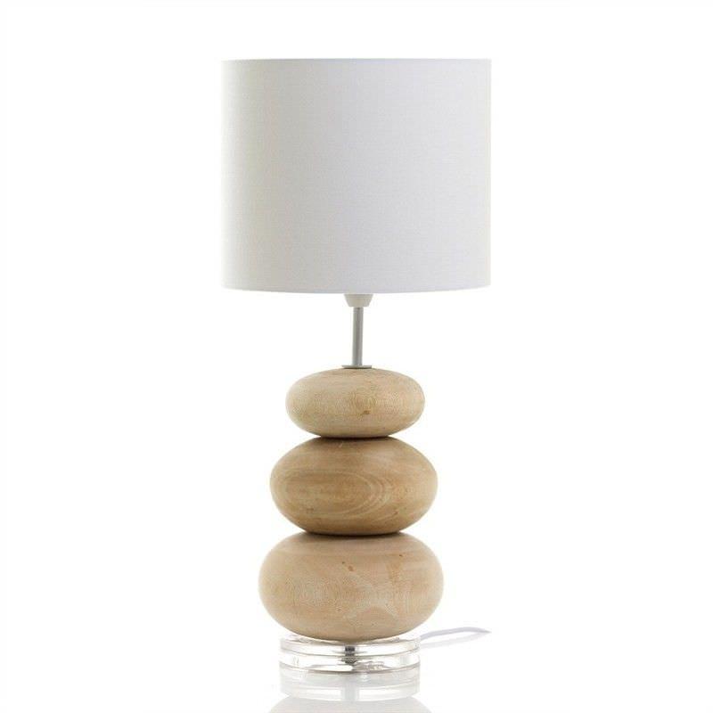 Pinda Wooden Table Lamp