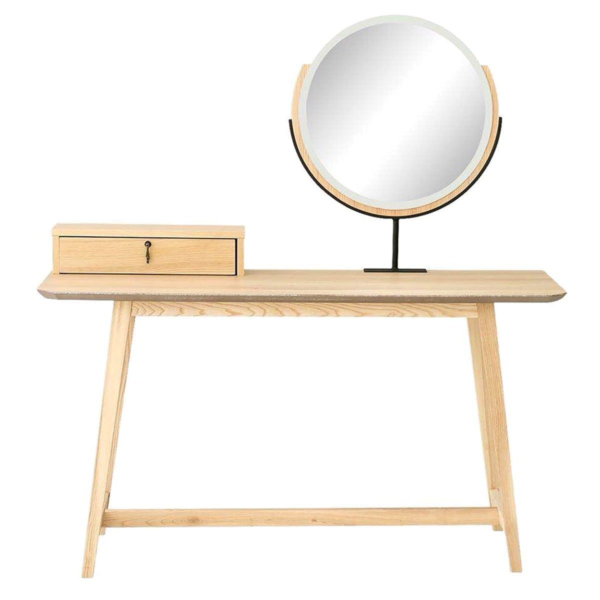 Epica Wooden Dressing Table with Mirror