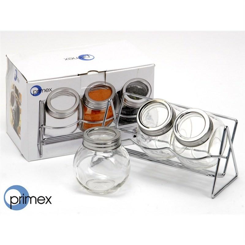 4 Piece Spice Jar Set