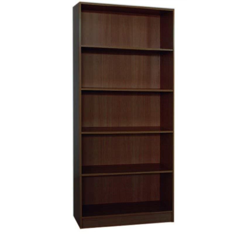 Mission 180x80cm Bookcase - Walnut