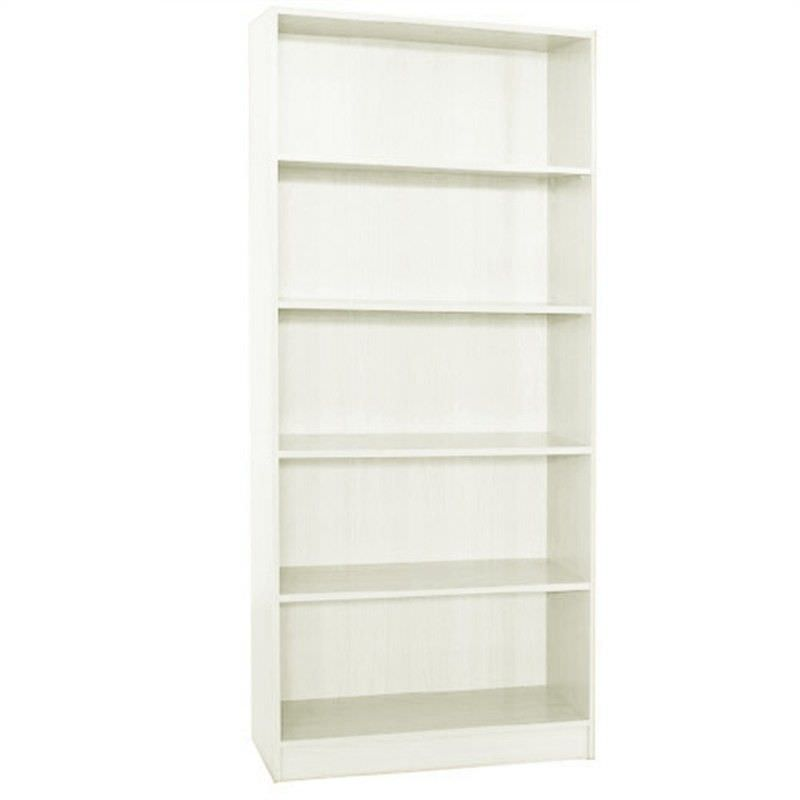 Mission 180x80cm Bookcase - White