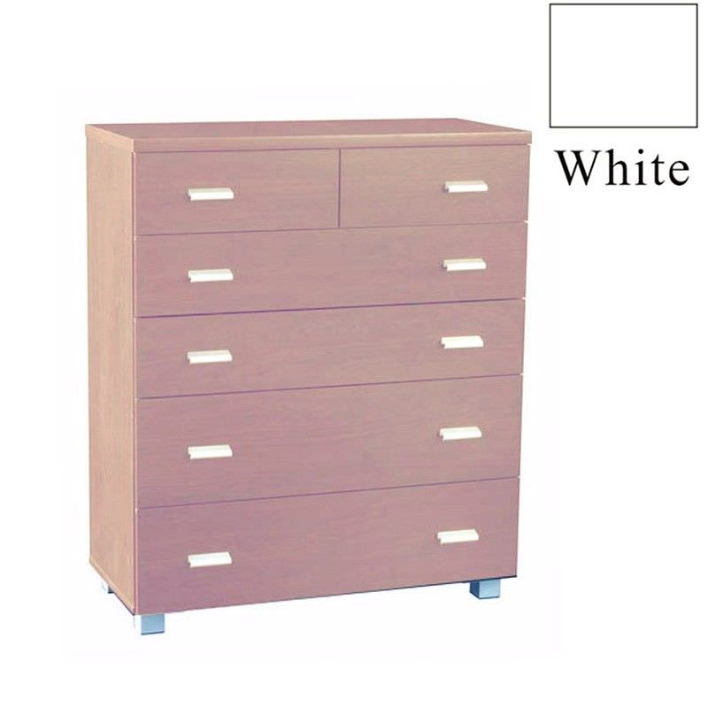 Concord 101cm High Chest - White