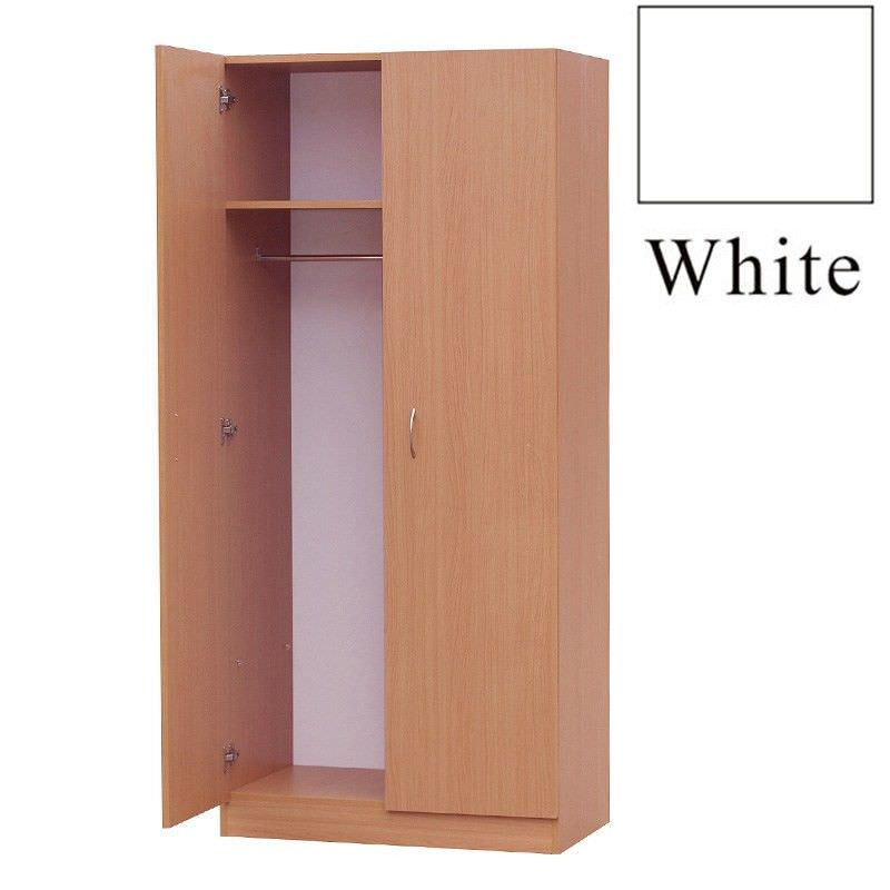 Mission Cloth Hanger, White
