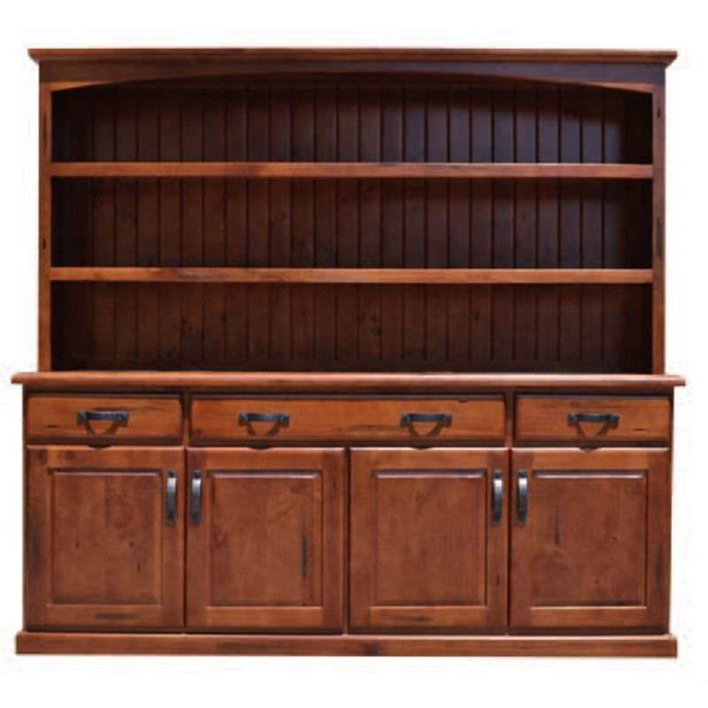 Everest Pine Timber Hutch Cabinet