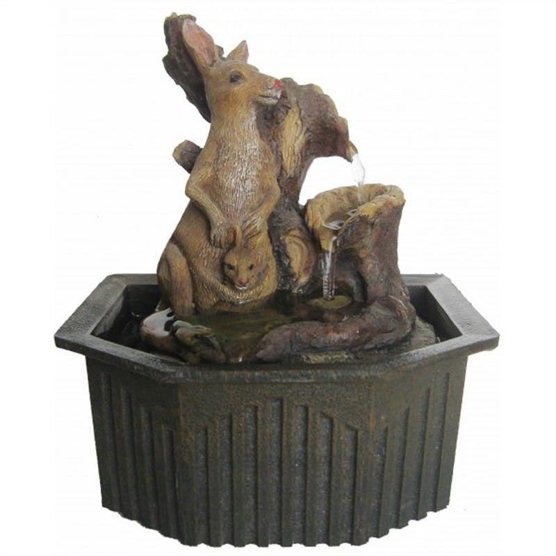 Kangaroo Fountain - 18cm
