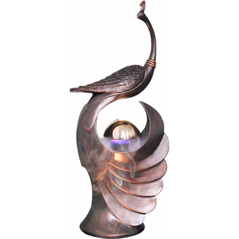 Peacock Fountain - 105cm
