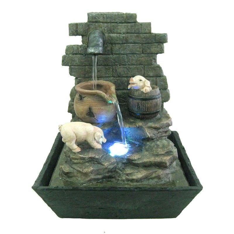 Pig Tap Fountain - 27cm