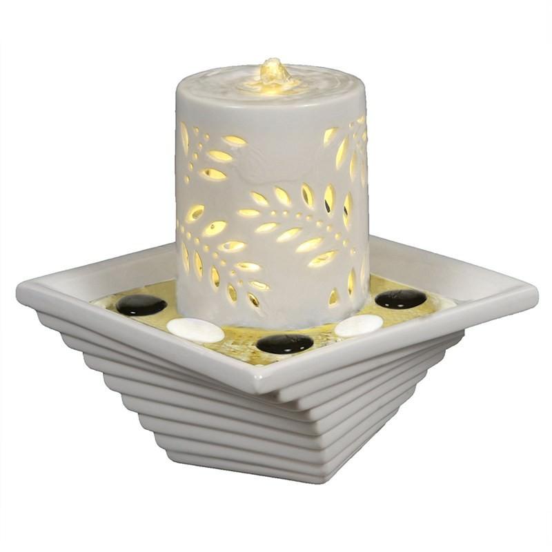 Leaf Candle Fountain - 25cm