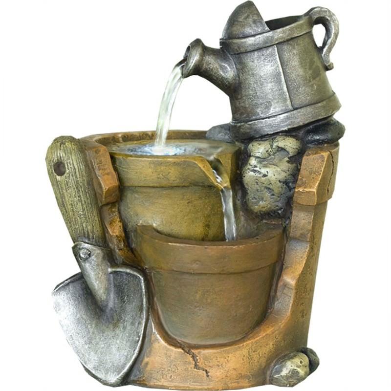 Broken Pot Fountain - 21cm