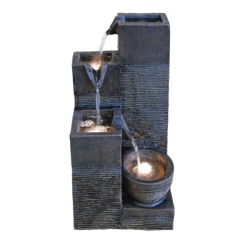 Block Water Fountain - 40cm