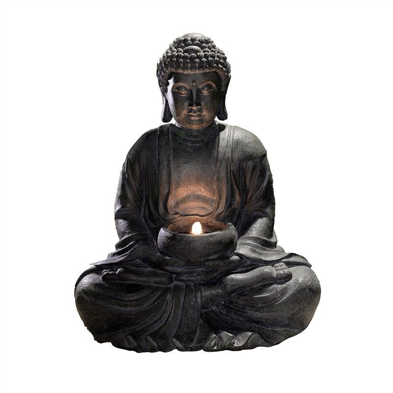 Vast Buddha Figurine with Tealight Holder