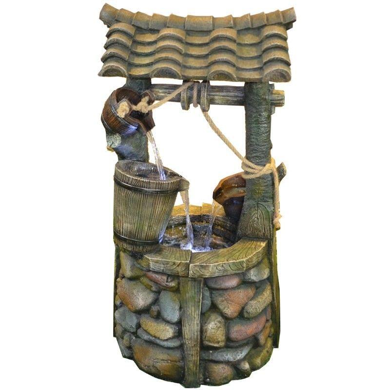 Wishing Well Water Fountain - 105cm