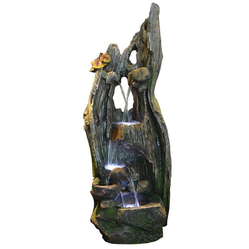 Trunk Cascade Water Fountain - 165cm
