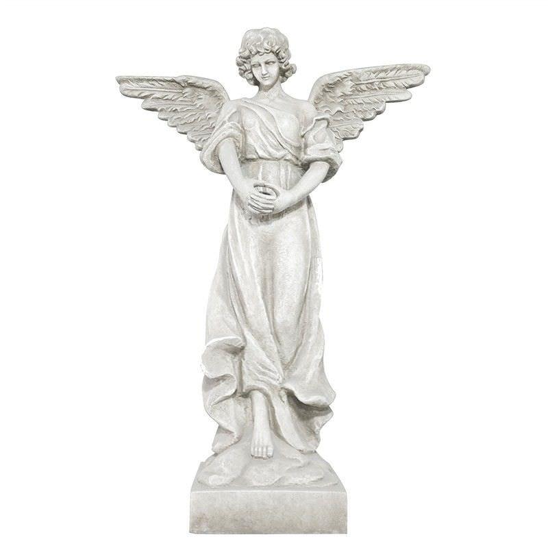 Angel Fibre Clay Figurine