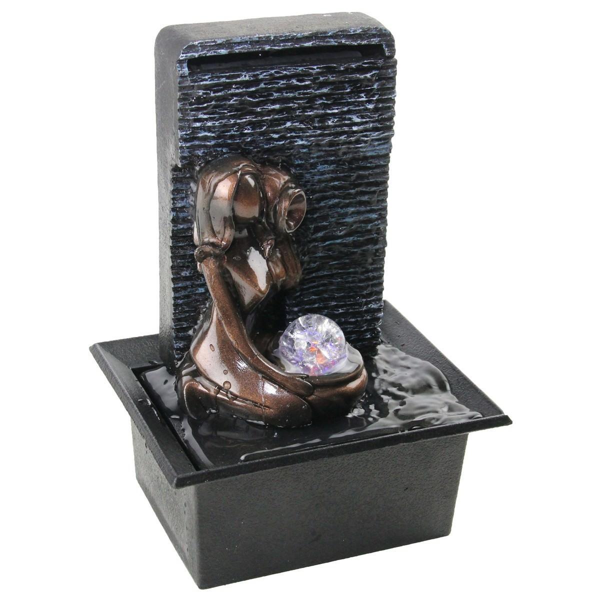 Working Lady Fountain - 24cm