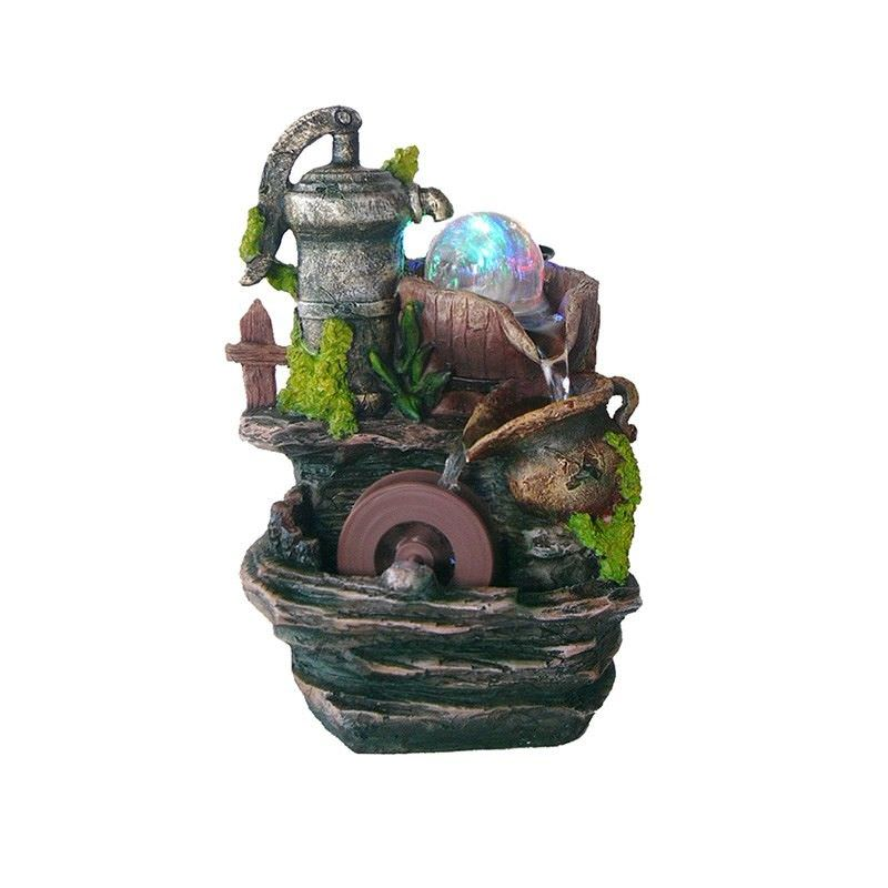 Tap and Barrel Fountain - 20cm