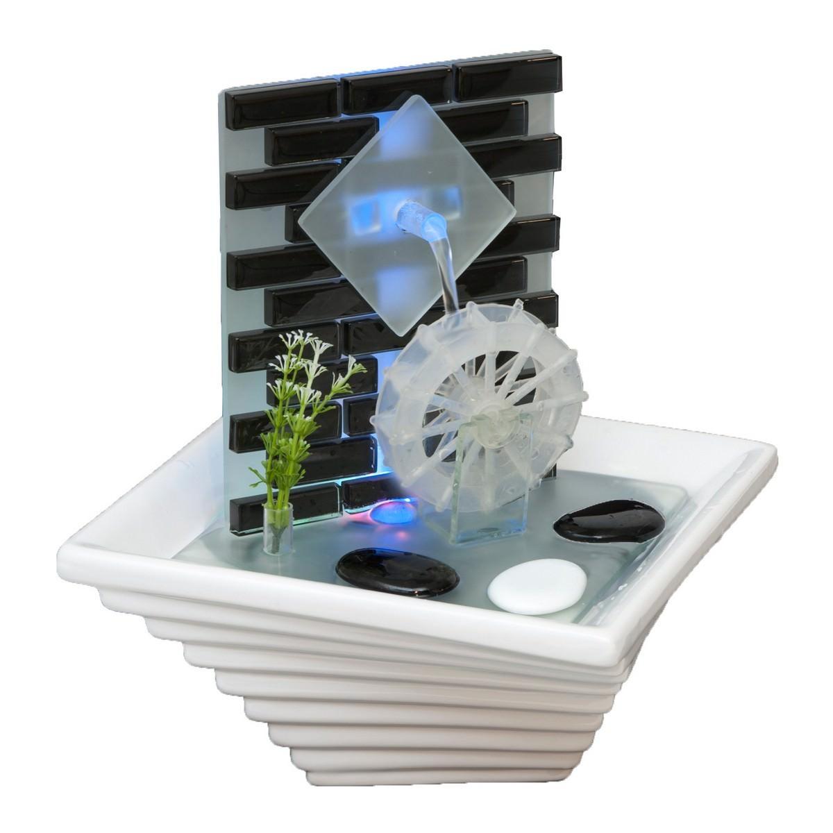 Ceramic Wheel Water Fountain