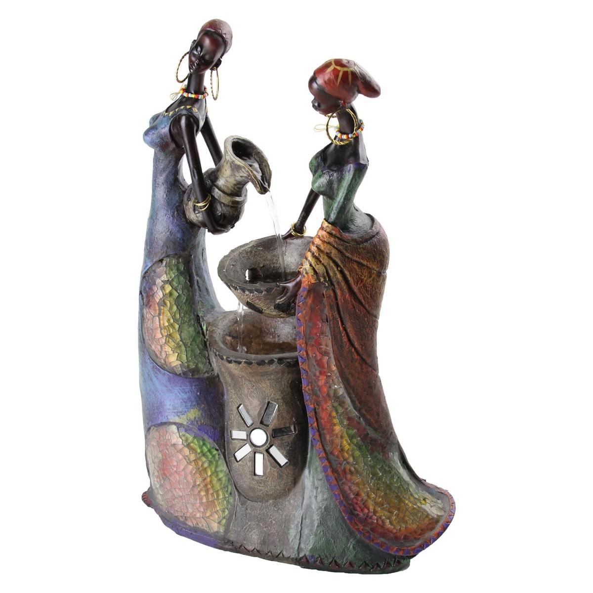 African Ladies Fountain - 35cm