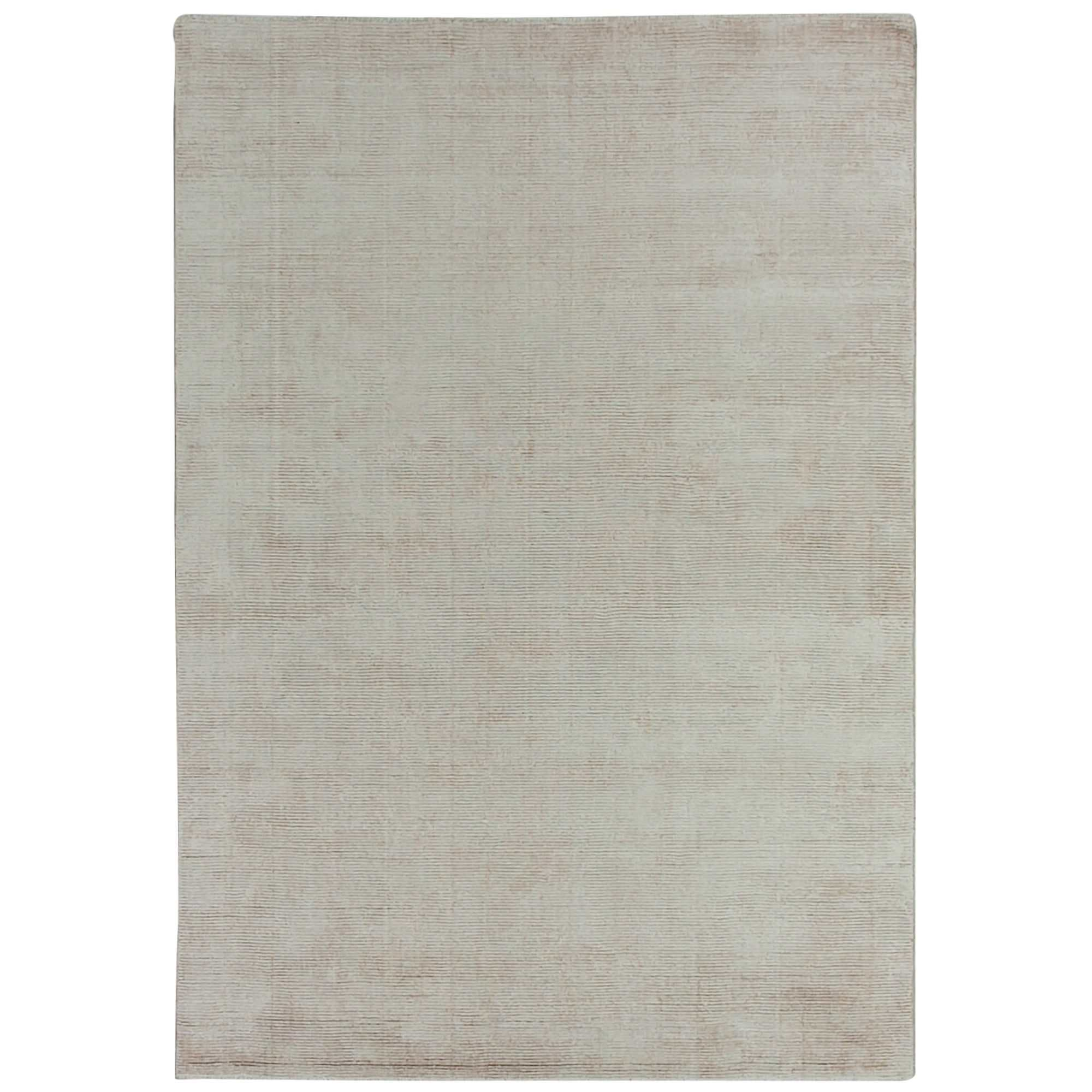 Elements Hand Knotted Wool Rug, 350x450cm, Beige