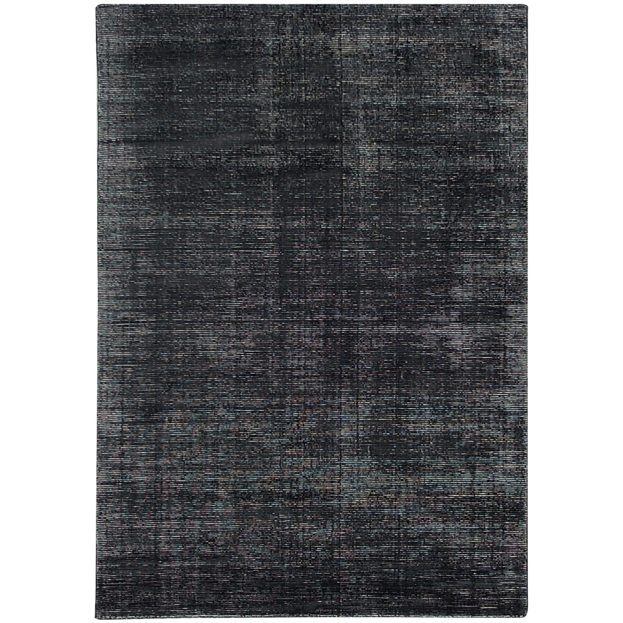 Elements Hand Knotted Wool Rug, 300x400cm, Charcoal