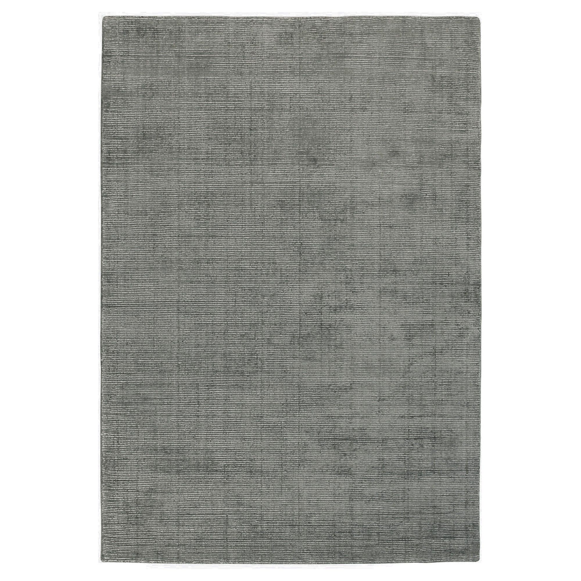 Elements Hand Knotted Wool Rug, 300x400cm, Grey