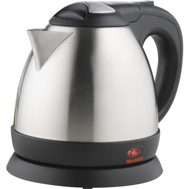 Maxim 0.8L Stainless Cordless Kettle