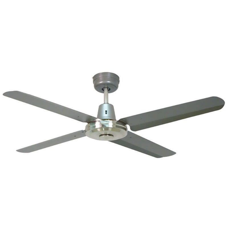 "Swift Metal Ceiling Fan, 130cm/52"", Titanium"