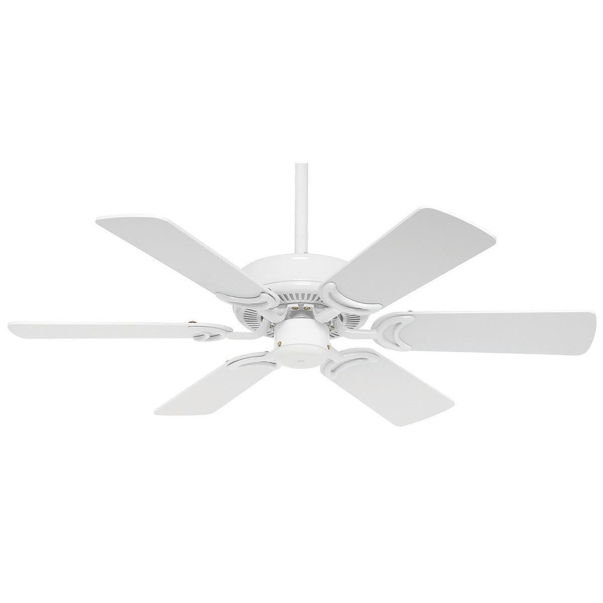 "Hamilton Timber Ceiling Fan, 90cm/36"", White"