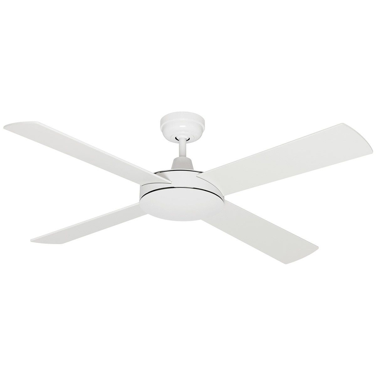Caprice timber ceiling fan 120cm48 white caprice timber ceiling fan 120cm48 aloadofball Choice Image
