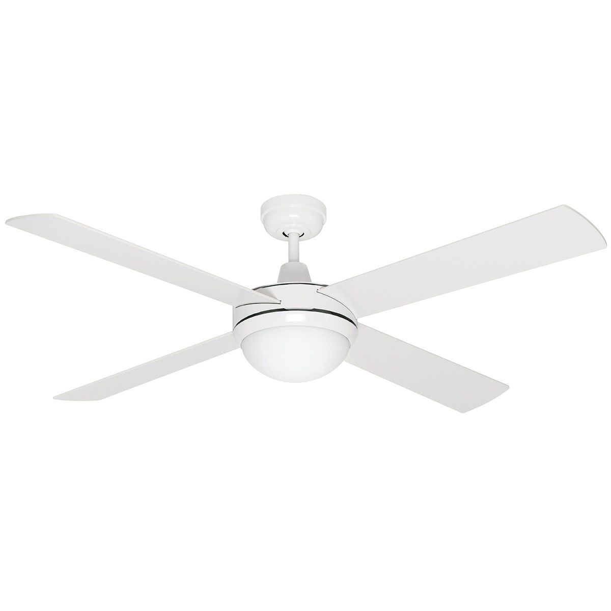 Ca Timber Ceiling Fan With Light 130cm 52