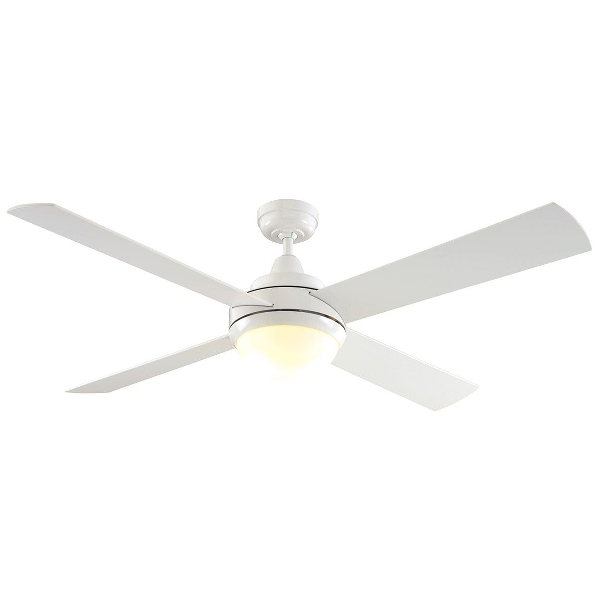 Ca Timber Dc Ceiling Fan With Light 130cm 52