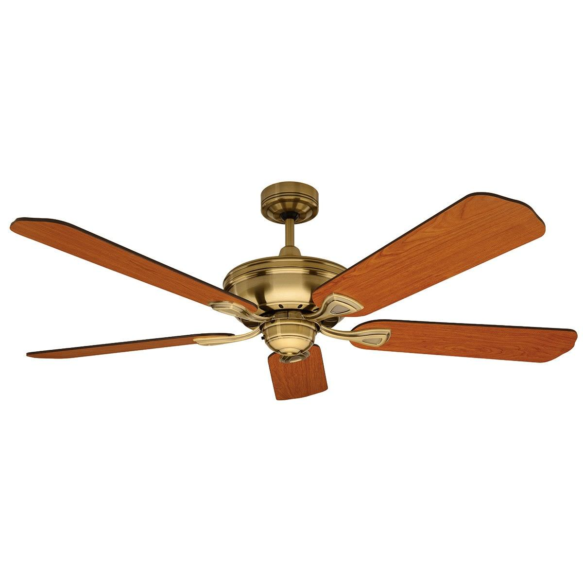 Healey timber ceiling fan 130cm52 antique brass healey timber ceiling fan 130cm52 antique brass aloadofball Choice Image