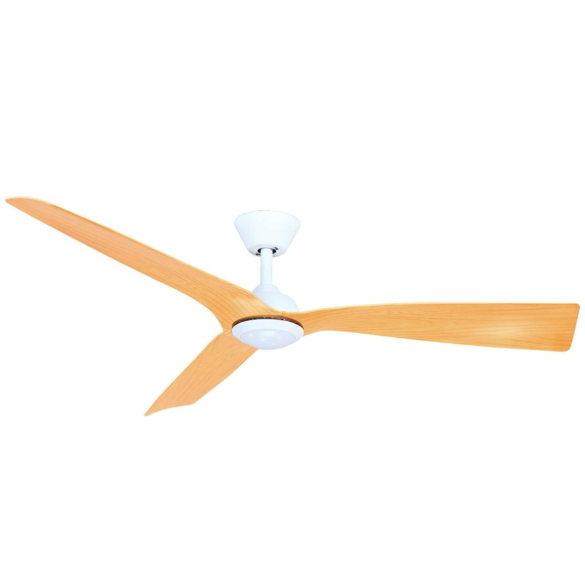 Ceiling fans economic ceiling fans australia wide trinidad ii dc ceiling fan with led light 130cm52 white ashwood mozeypictures Gallery