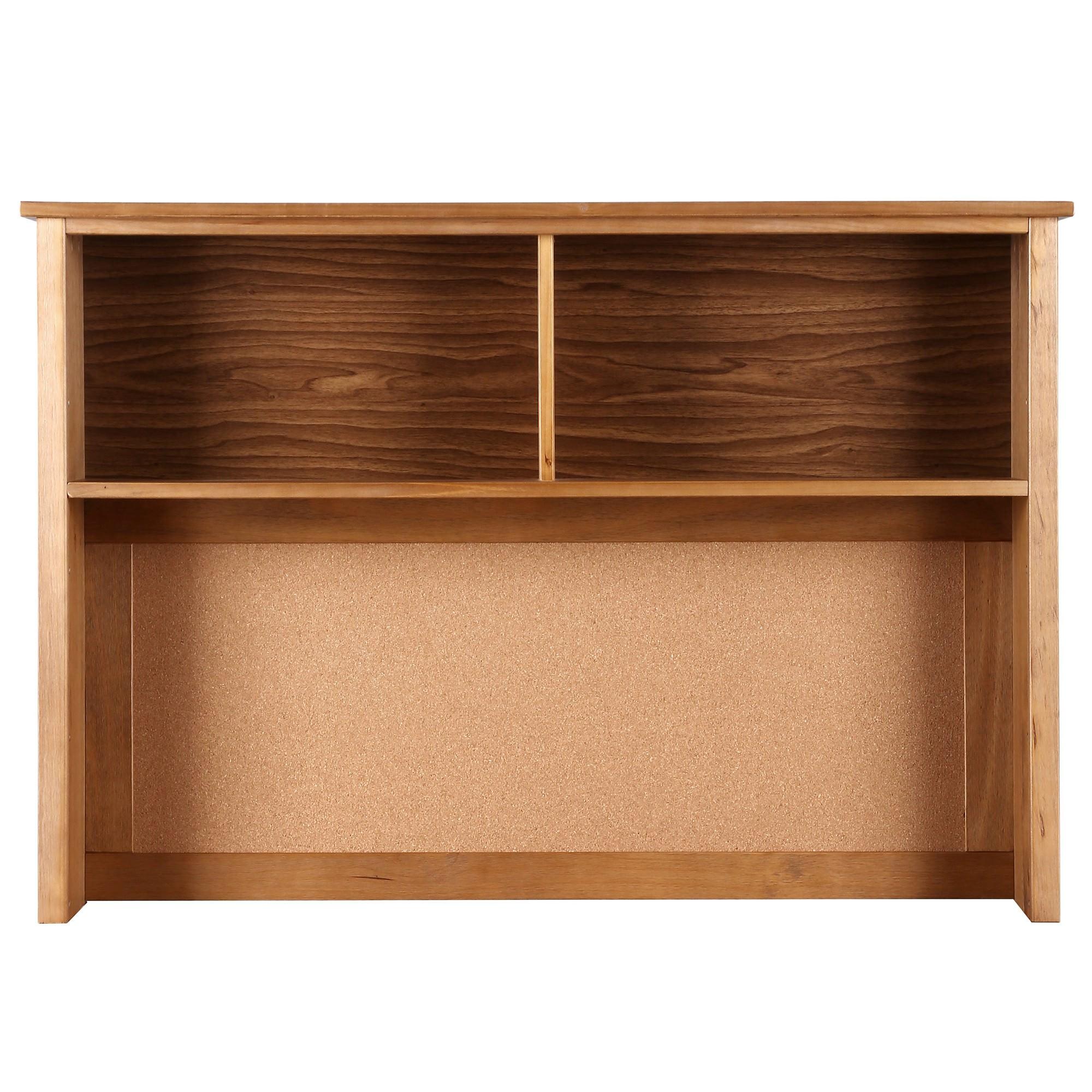 Flinders Timber Desk Hutch, Natural