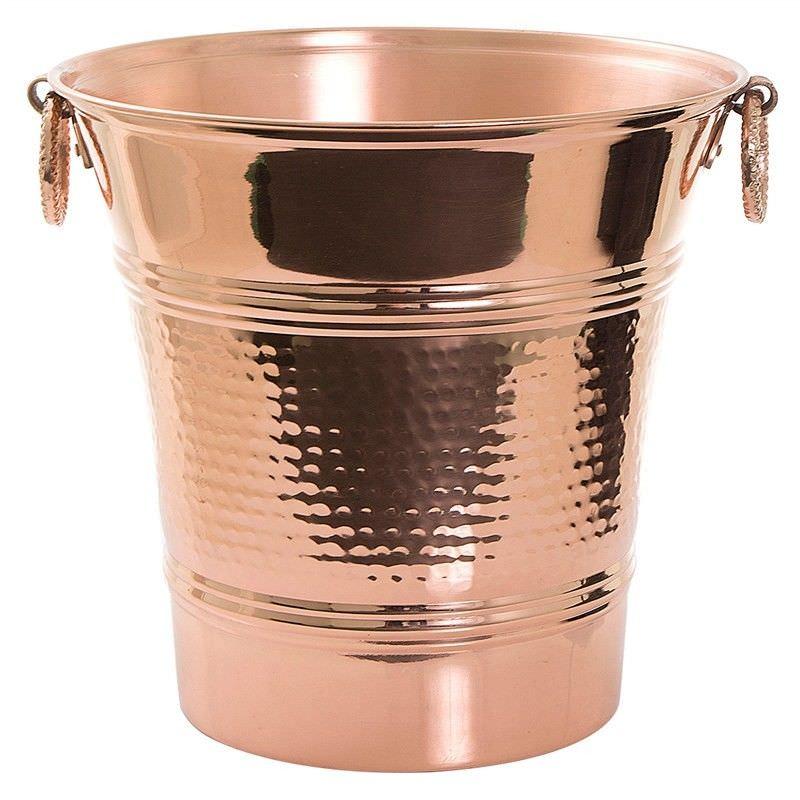 Ike Metal Wine Cooler Bucket, Copper