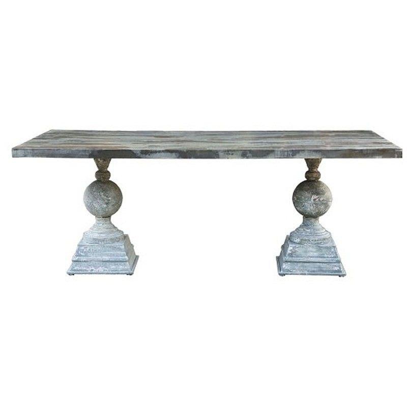 Paloma Metal 213cm Dining Table