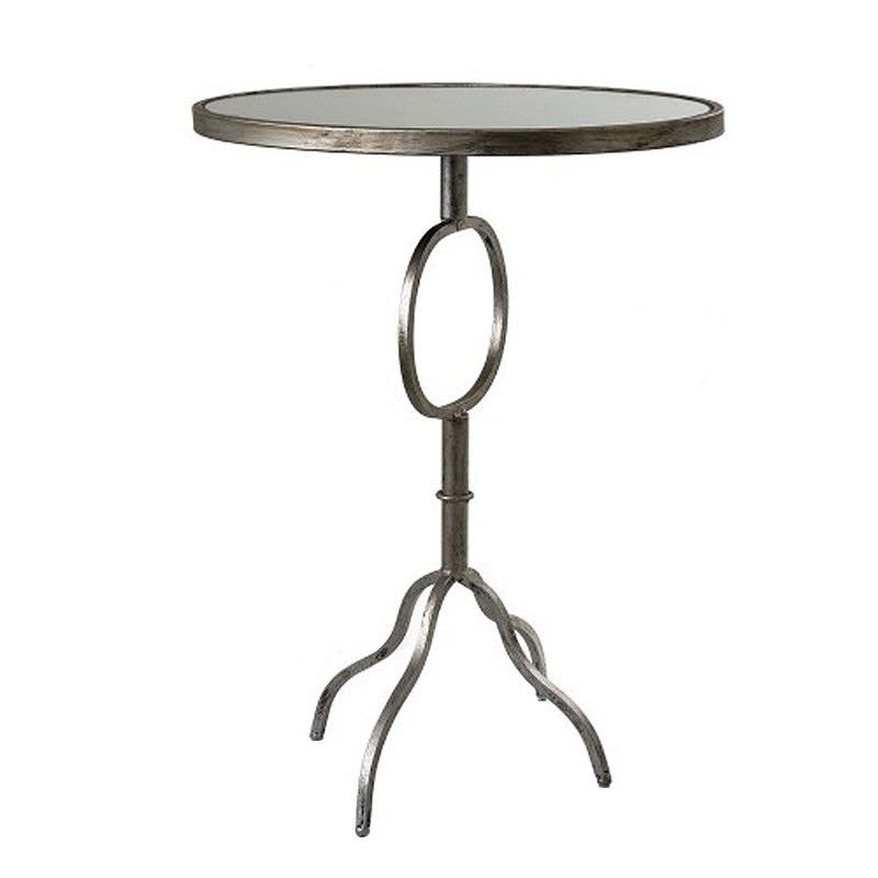 Maysen Metal Oval Occasional Table