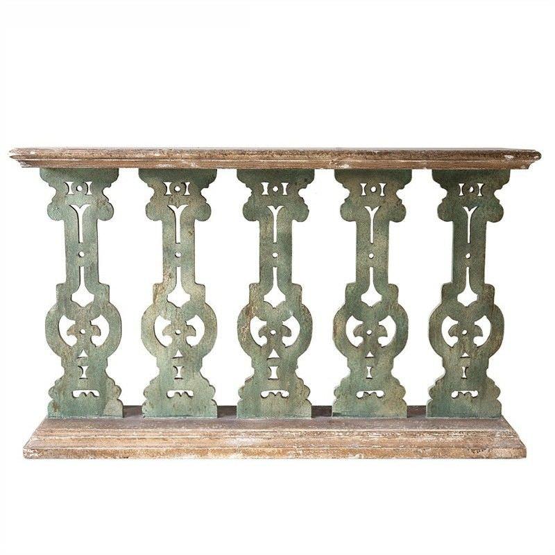 Sedalia Wooden 130cm Console Table