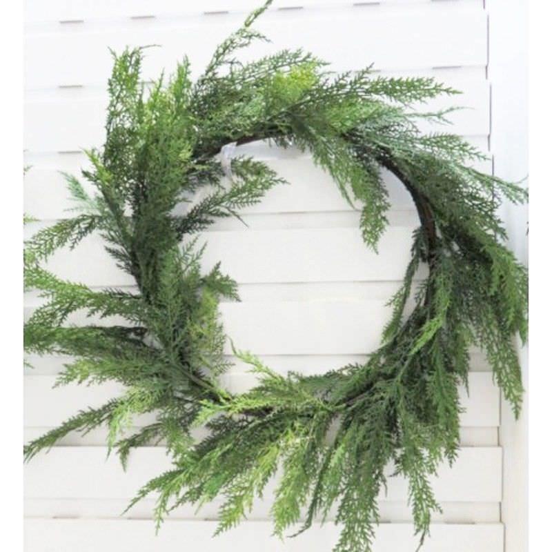 Christmas 70cm Cedar Wreath