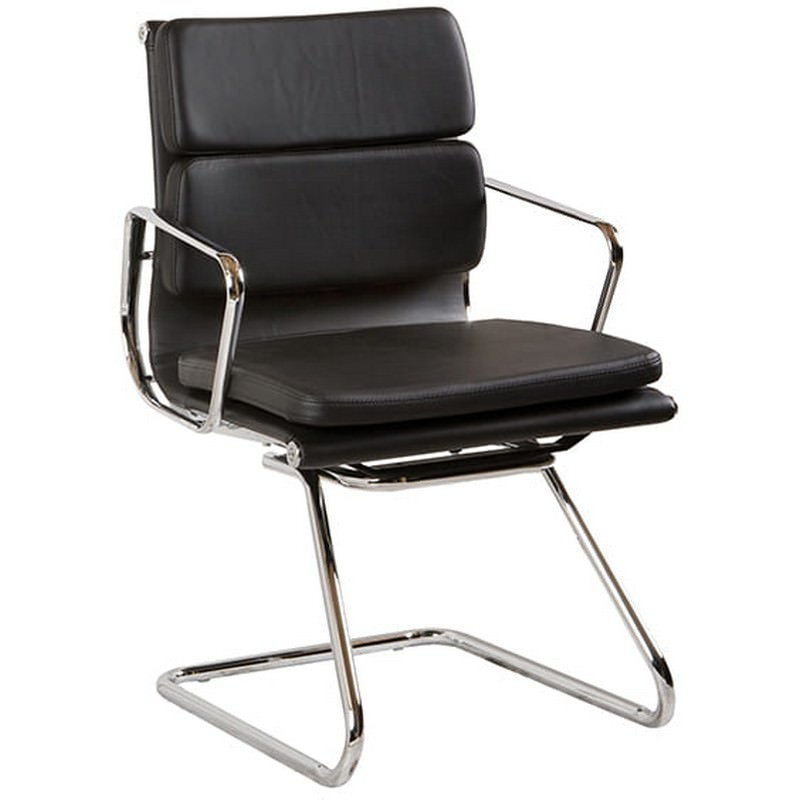 Flash Leather Visitors Chair