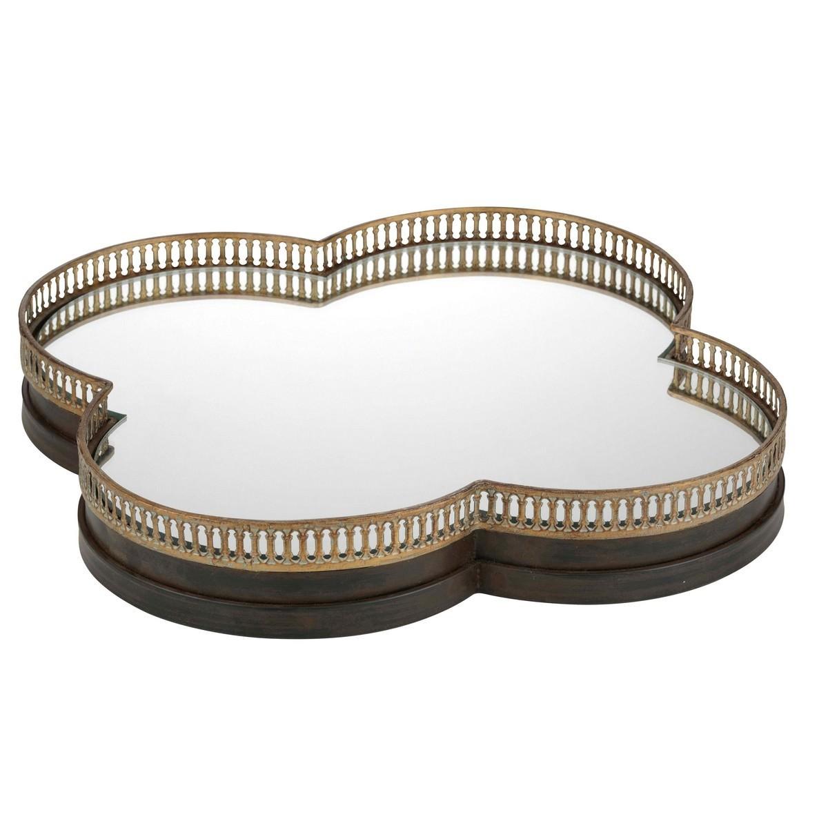 Clover Handmade Metal Frame Tray/Mirror