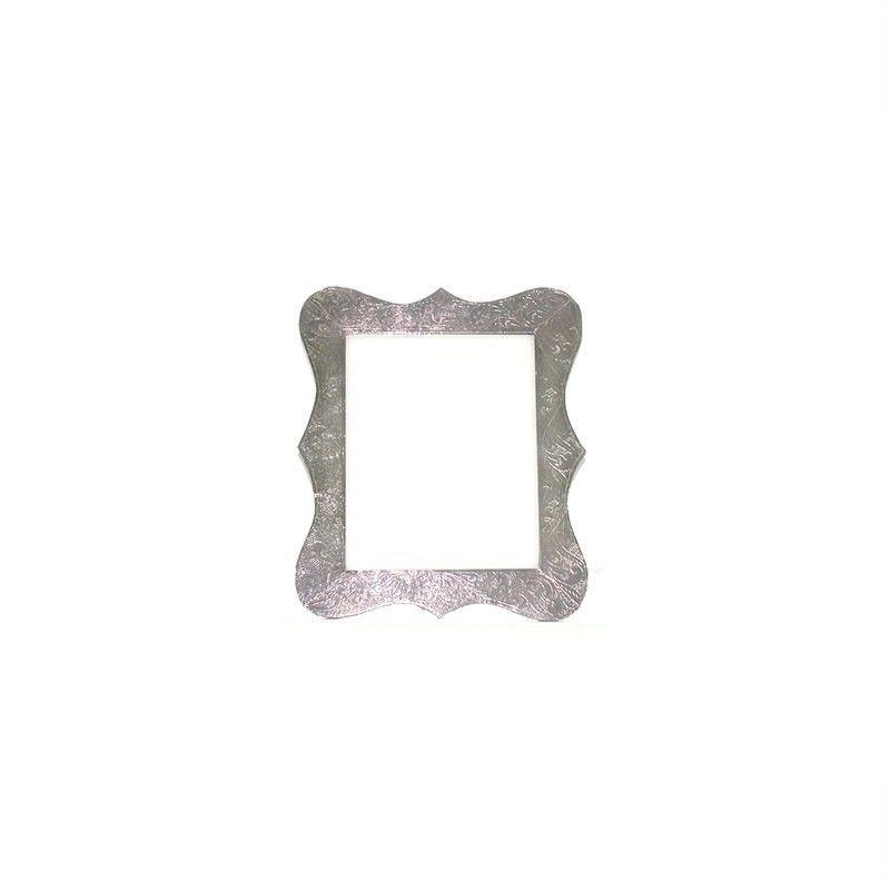 White Metal Petal Frame 8x10''