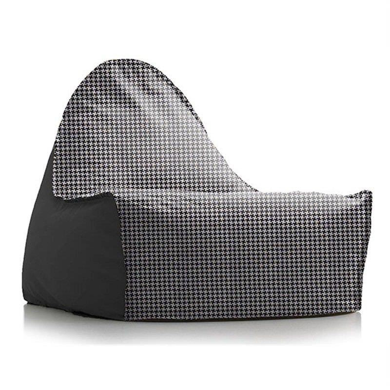 Sukee Bean Chair - Black/White