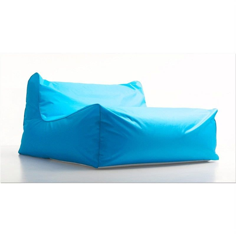Kalahari Outdoor Floating Sun Chair Bean Bag Cover, Blue