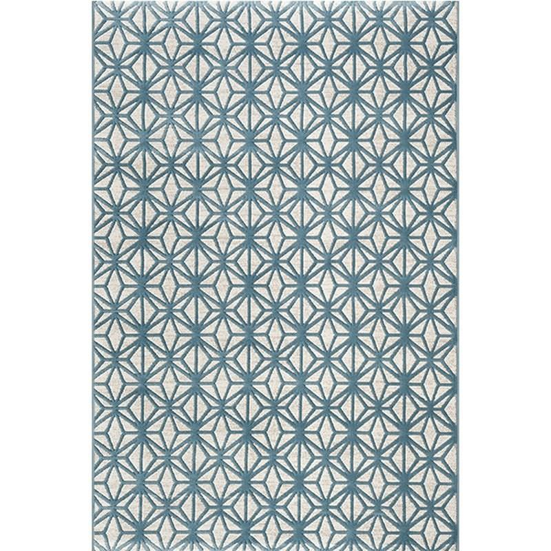 Fruzan Valence Turkish Made Modern Rug, 200x290cm, Turquoise / Cream