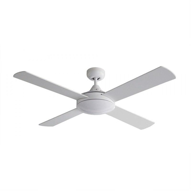 Martec Four Seasons Primo Ceiling Fan (FSP124W) in White 120cm