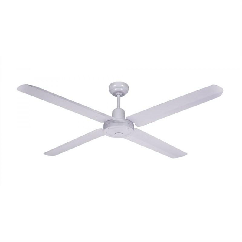 Martec Trisera Interchangeable 120cm Aluminium Blade Ceiling Fan (FST1234W) in White